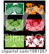 Royalty Free Vector Clip Art Illustration Of A Digital Collage Of Business Card Or Background Designs 8