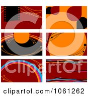 Royalty Free Vector Clip Art Illustration Of A Digital Collage Of Business Card Or Background Designs 20