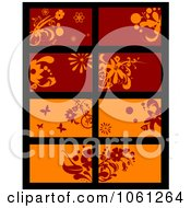 Royalty Free Vector Clip Art Illustration Of A Digital Collage Of Business Card Or Background Designs 19