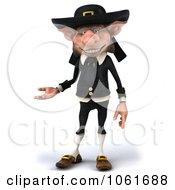 3d Korrigan Dwarf Gesturing Left