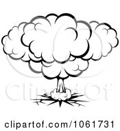 Clipart Comic Explosion Design Element 7 Royalty Free Vector Illustration