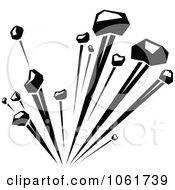 Clipart Comic Explosion Design Element 2 Royalty Free Vector Illustration