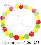Clipart Beaded Bracelet Royalty Free Vector Jewelry Illustration
