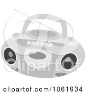 Clipart Boombox Radio Royalty Free Vector Entertainment Illustration