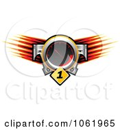 Clipart Race Car Speedometer Royalty Free Vector Illustration by Vector Tradition SM