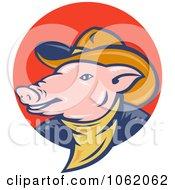 Cowboy Pig Logo