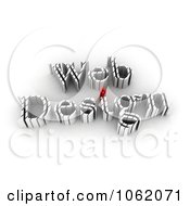 Clipart 3d Web Design 2 Royalty CGI Illustration by MacX
