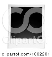 Clipart Blank Instant Picture Royalty Free Vector Illustration