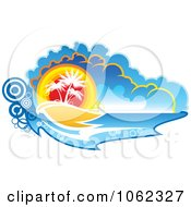 Clipart Palm Tree Island 4 Royalty Free Vector Clip Art Illustration by Vector Tradition SM