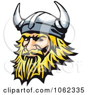Clipart Viking Man Royalty Free Vector Illustration by Vector Tradition SM