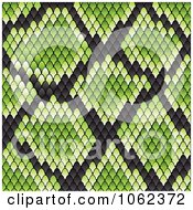 Clipart Green Snake Print Pattern Background Royalty Free Vector Illustration by Vector Tradition SM