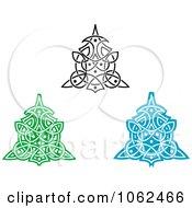 Clipart Greek Design Elements Digital Collage 3 Royalty Free Vector Illustration