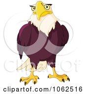Clipart Bald Eagle Royalty Free Vector Illustration by yayayoyo