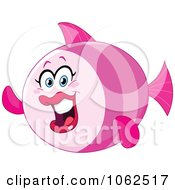 Pink Female Fish