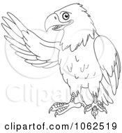Presenting Eagle Outline