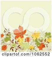 Clipart Autumn Background 6 Royalty Free Vector Clip Art Illustration