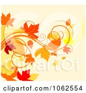Clipart Autumn Background 3 Royalty Free Vector Clip Art Illustration by Vector Tradition SM