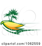 Clipart Palm Tree Island 8 Royalty Free Vector Clip Art Illustration
