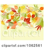 Clipart Autumn Background 8 Royalty Free Vector Clip Art Illustration by Vector Tradition SM