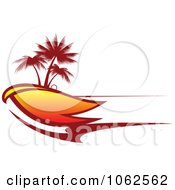 Clipart Palm Tree Island 9 Royalty Free Vector Clip Art Illustration