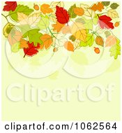 Clipart Autumn Background 10 Royalty Free Vector Clip Art Illustration by Vector Tradition SM