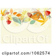 Clipart Autumn Background 4 Royalty Free Vector Clip Art Illustration by Vector Tradition SM