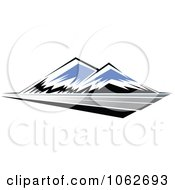 Clipart Mountain Logo 5 Royalty Free Vector Illustration