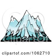 Clipart Mountain Logo 6 Royalty Free Vector Illustration by Seamartini Graphics