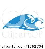 Clipart Ocean Wave Design Element 11 Royalty Free Vector Illustration