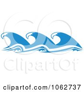 Clipart Ocean Wave Design Element 8 Royalty Free Vector Illustration
