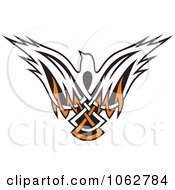 Clipart Tribal Dove Royalty Free Vector Illustration