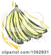 Woodcut Styled Bananas by xunantunich
