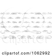 Clipart Distressed Design Elements Royalty Free Vector Illustration