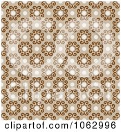 Clipart Seamless Tan Swirl Background Royalty Free Vector Illustration