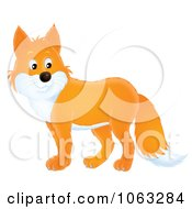 Clipart Fox Royalty Free Illustration by Alex Bannykh