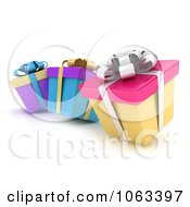 Clipart 3d Gift Boxes Royalty Free CGI Illustration by BNP Design Studio