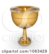 Clipart 3d Chalice Royalty Free CGI Illustration