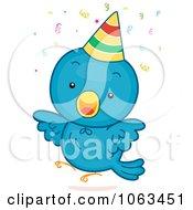 Clipart Birthday Bird Royalty Free Vector Illustration by BNP Design Studio