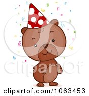 Clipart Birthday Hamster Royalty Free Vector Illustration by BNP Design Studio