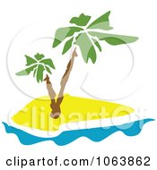 Clipart Palm Tree Logo 5 Royalty Free Vector Illustration by Vector Tradition SM