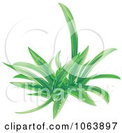 Clipart Green Grass Royalty Free Vector Illustration
