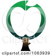 Clipart Apple Tree Logo 1 Royalty Free Vector Illustration