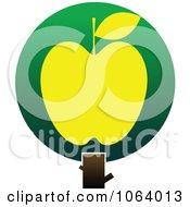 Clipart Apple Tree Logo 2 Royalty Free Vector Illustration