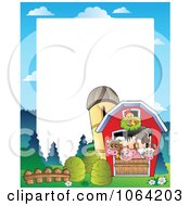 Clipart Barnyard Animal Frame 2 Royalty Free Vector Illustration by visekart #COLLC1064203-0161