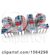 Clipart 3d British 2012 Royalty Free CGI Illustration by MacX