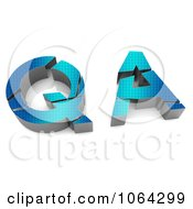 Clipart 3d Quality Assurance Royalty Free CGI Illustration