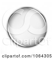 Clipart 3d Blank Button Royalty Free CGI Illustration