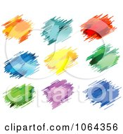 Clipart Colorful Splatters Digital Collage 5 Royalty Free Vector Illustration by Vector Tradition SM