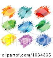 Clipart Colorful Splatters Digital Collage 4 Royalty Free Vector Illustration by Vector Tradition SM