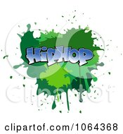 Clipart Comic Splatter With Hip Hop Text Royalty Free Vector Illustration by Vector Tradition SM